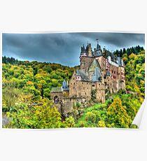 Burg Eltz, Rhineland-Palatinate, Germany Poster