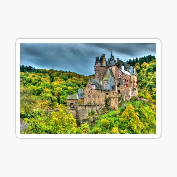 Burg Eltz, Rhineland-Palatinate, Germany Sticker