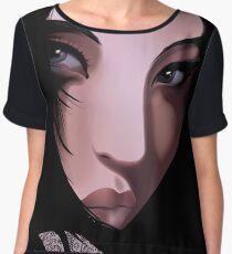 The Black Geisha Chiffon Top
