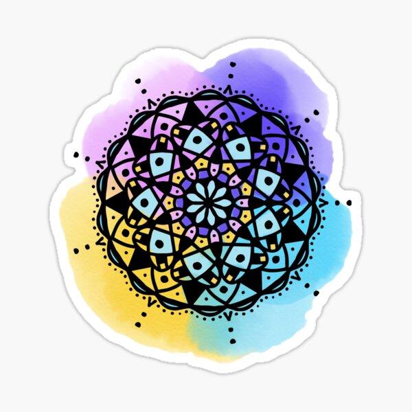 Good Morning Mandala Sticker