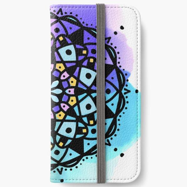 Good Morning Mandala iPhone Wallet