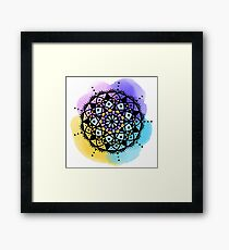 Good Morning Mandala Framed Print