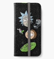 Rick and Porty Portal Heads iPhone Wallet/Case/Skin