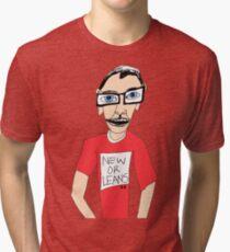 New Orleans Tourist Tri-blend T-Shirt