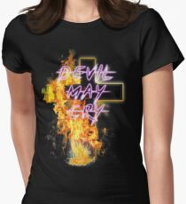 DEVIL MAY CRY Womens Fitted T-Shirt