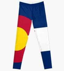 Colorado Flag Duvet Cover Leggings