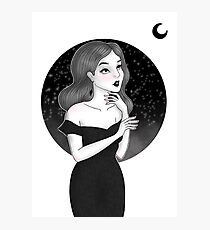 Elegance Under the Moon Photographic Print