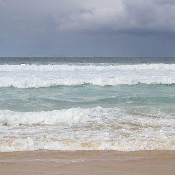 Beautiful Ocean Beach Dress by deanworld