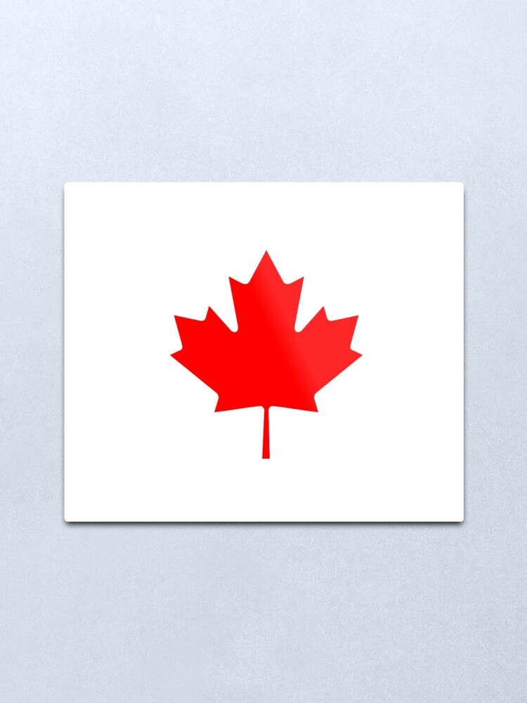 "1-5/"" Canada Canadian Subdued Maple Leaf Flag Decal Tactical Sticker RH"