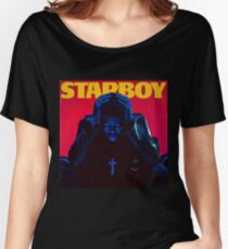 Starboy Tour 2017 Women's Relaxed Fit T-Shirt