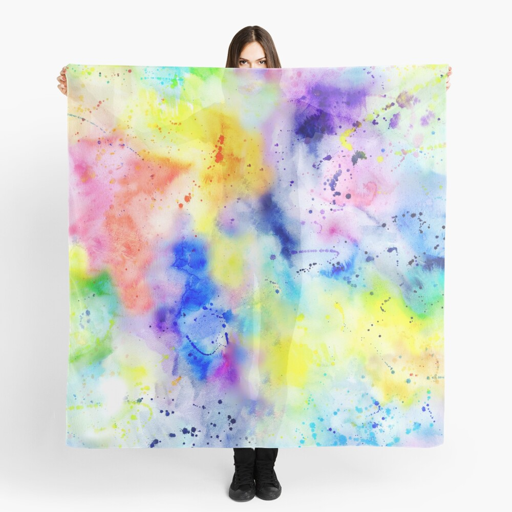 Watercolour Wash Scarf