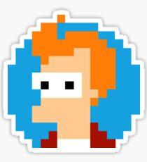 Pixel Fry Futurama Sticker