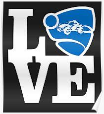 Love Rocket League Poster