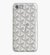 White Pattern Case iPhone Case/Skin