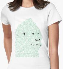 Mountain Tailliertes T-Shirt für Frauen