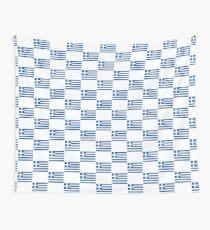 Griechisches Nationalflaggen-T-Shirt - Griechenland-Aufkleber Wandbehang
