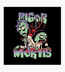 rigor and mortis Photographic Print