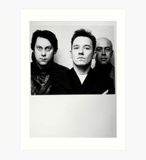 Vic Reeves, Bob Mortimer and the other one Art Print