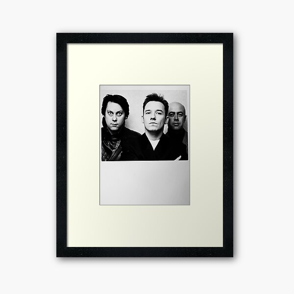 Vic Reeves, Bob Mortimer and the other one Framed Art Print