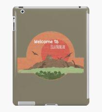 Welcome to Isla Nublar iPad Case/Skin