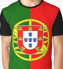 Portuguese Flag - Portugal Duvet Graphic T-Shirt
