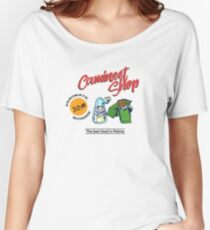 Phantasy Star - Camineet Shop Advertising Women's Relaxed Fit T-Shirt