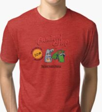 Phantasy Star - Camineet Shop Advertising Tri-blend T-Shirt