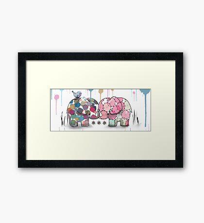 elephant confection Framed Print