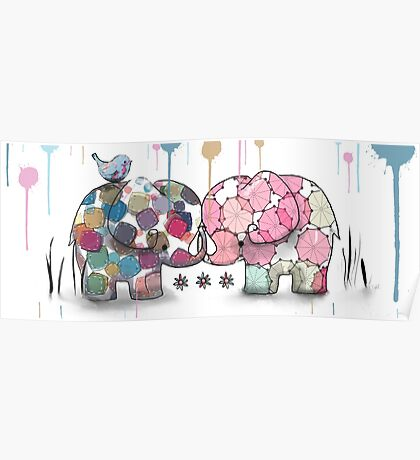 elephant confection Poster