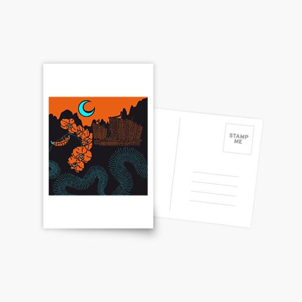 Centipede Postkarte
