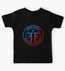 Fringe Division symbol double universe color Kids Tee