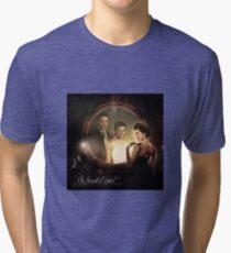 An Haunted Mind (Jason O'Mara & Paige Turco) Tri-blend T-Shirt