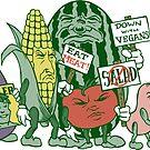 Veggie Protest by ShantyShawn