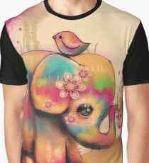 vintage tie dye elephants Graphic T-Shirt