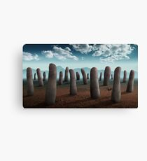 Experiment with Fingers Canvas Print