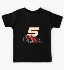 Go Sebastian Vettel #5 on your sf70h Kids Clothes