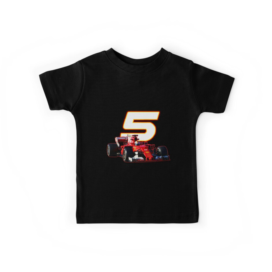 Go Sebastian Vettel #5 on your sf70h by ideasfinder
