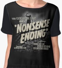Nonsense Ending Women's Chiffon Top