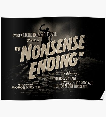 Nonsense Ending Poster