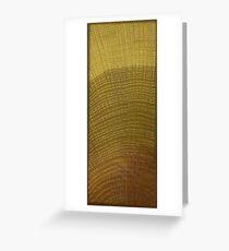 Oak Wood Grain Greeting Card