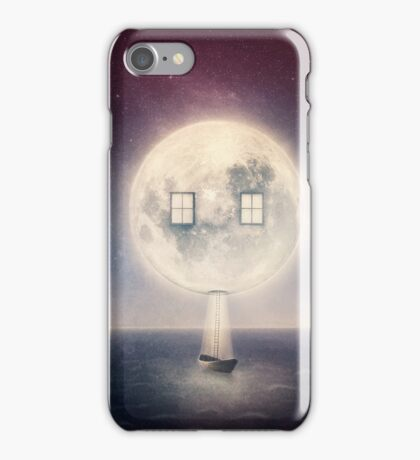 Moon House iPhone Case/Skin