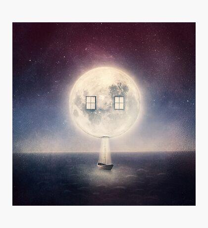 Moon House Photographic Print