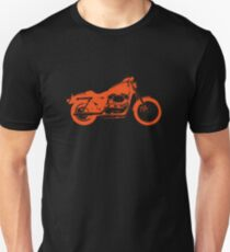 motorcycle orange Unisex T-Shirt
