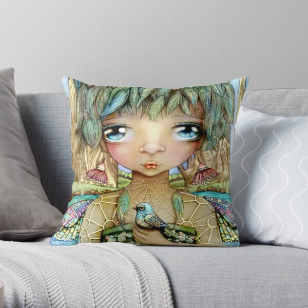 Eucalypt Princess Throw Pillow