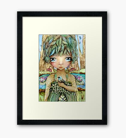 Eucalypt Princess Framed Print