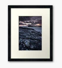 Oldshoremore Evening Light Framed Print