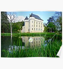Chateau campagne Poster