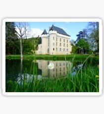 Chateau campagne Sticker