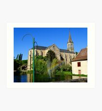 Church of Saint Sulpice Art Print