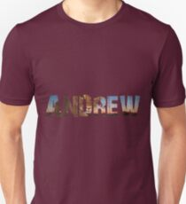 Cool Andrew name designs Unisex T-Shirt